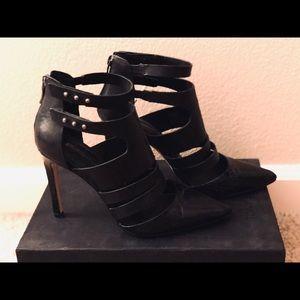BCBG black stiletto heels